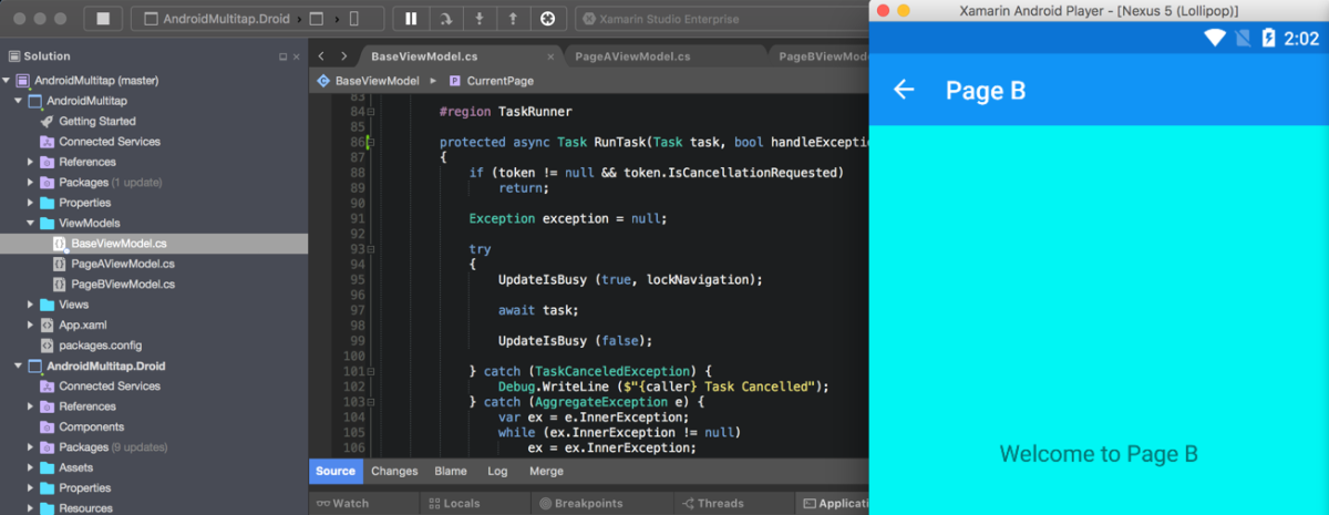 Handling Multiple Taps in Xamarin Forms on Android – IntelliAbb