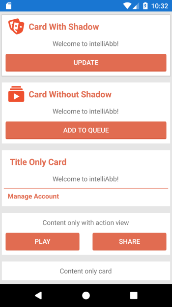 Card View For Xamarin Forms Using Custom Layouts – IntelliAbb