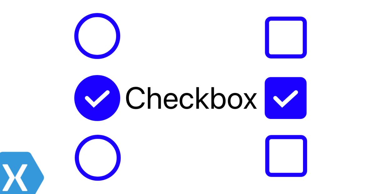 Checkbox For Xamarin Forms – IntelliAbb