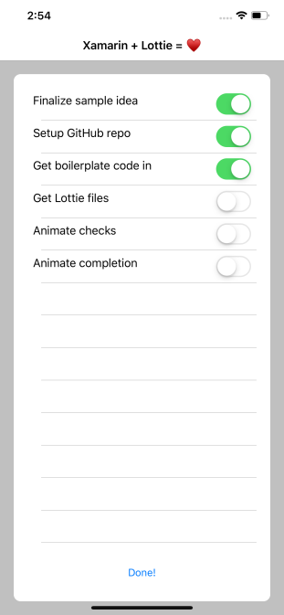 Stunning Animations In Xamarin Forms With Lottie – IntelliAbb